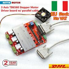 【ITA】3 axis tb6560 driver board mach3 cnc nema23 stepper motor driver controller