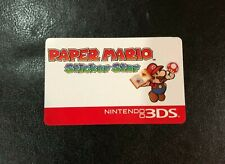 Nintendo Super Mario Paper Mario Target Reservation Gift Card (Used no value)