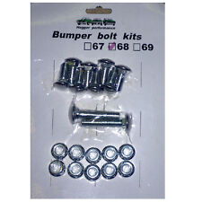 1968 68 Camaro Bumper Bolt Kit original type New