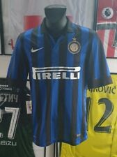 Maillot jersey shirt maglia camiseta inter 2011 2012 11/12 S milito sneijder