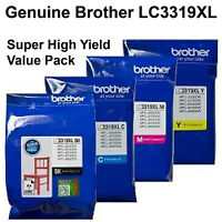 GENUINE Original Brother LC3319XL ink Cartridge toner MFC-J6730DW MFC-J6930DW