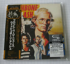 WISHBONE ASH - Front Page News JAPAN SHM MINI LP CD OBI NEU! UICY-94493