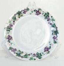 MAINSTAYS PURPLE GRAPES DINNER PLATE 10.75""