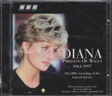 """""""DIANA: PRINCESS OF WALES"""" BBC FUNERAL SERVICE RECORDING CD BRAND NEW 1997"""