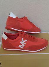 Sz 7.5 Michael Kors Shoes Stanton Trainer Gym Sneakers Pink Grapefruit Reg. $140