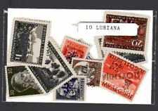 Lubiana 10 sellos diferentes