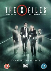 The X-Files Complete - Seasons 1-11 RRP £109.99 lot GDDB