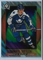 2018-19 O-Pee-Chee coast to coast Polar Lights Parallel Darryl Sittler 32/99 SSP