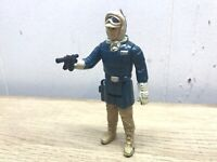 Star Wars Vintage 1980 Han Solo Hoth Near Complete  Kenner W/WEAPON