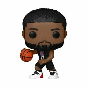 Funko Pop! NBA LA Clippers Paul George Alternate Jersey W/ Protector