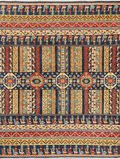 5'x7' Geometric Super Kazak Oriental Area Rug Handmade WOOL South-Western Carpet