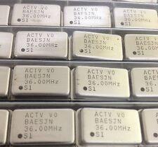 x25 **NEW** ACT1100 36.00 Mhz  Crystal Oscillator 4 PIN THROUGH HOLE