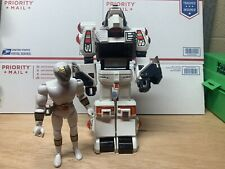 White Tigerzord and the White Ranger MIGHTY MORPHIN POWER RANGERS 1994 Bandai 2