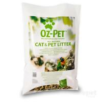 NEW OZ-Pet Odour Control Absorbent All Natural Cat / Pet Pellet Litter 15kg