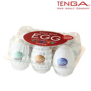 Tenga Egg Variety Pack Edition Disposable Masturbator Masturbatore Uovo Monouso