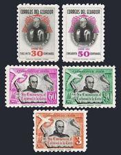 Ecuador 582-583,C253-C255,MNH.Michel 818-822. Cardinal Carlos Maria de la Torre.