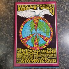 Bg-100 Postcard Jefferson Airplane Big Brother Holding Company Freedom Highway
