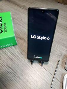 LG Stylo 6 LMQ730AM - 64GB - Titan (Cricket ) Excellent Condition