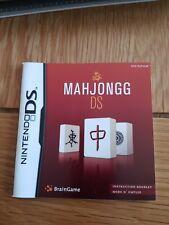 NINTENDO DS- MAHJONGG INSTRUCTION BOOKLET