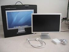 "Apple Mac Kino Display Bildschirm A1081 20 "" 60ghz 1680x1050 Breitbild 24hr Del"