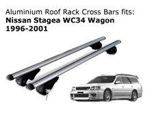 Aluminium Roof Rack Cross Bars fits Nissan Stagea WC34 Wagon 1996-2001