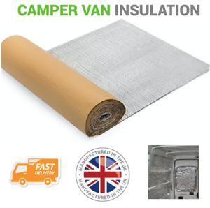 15 x 1m Self Adhesive Thermal Bubble Foil Insulation Home Caravan Van
