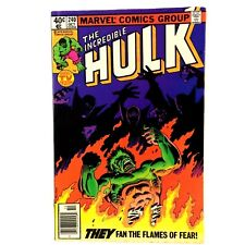 "Incredible Hulk #240 Marvel 1979 FN ""And Now El Dorado"" Betty Ross Goldbug"