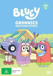 Bluey - Grannies And Other Stories - Vol 4 DVD