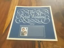 British Post Office 14p Commemorative booklet Royal Wedding Prince Charles & Di