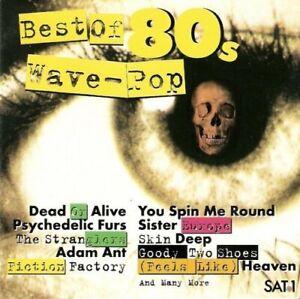 Best of 80s Wave Pop (16 tracks) (CD) Dead Or Alive, Psychedelic Furs, Freur,...