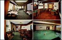 BAIERSBRONN Schwarzwald Mehrbild-AK Hotel Am Kurgarten Postkarte