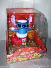 Nohohon Disney Stitch X'mas Christmas Solar ECO Japan Figure Limited NEW