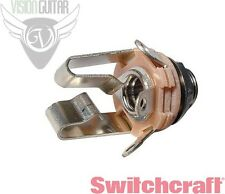 """NEW! Switchcraft 12B STEREO TRS 1/4"""" INPUT or Output Jack"""
