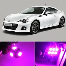 8 x Premium Hot Pink LED Lights Interior Package Kit for Subaru BRZ