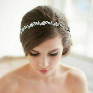 Tiara Crystal Wedding Bridal Bridesmaid Party Princess Headband Crown Headpiece