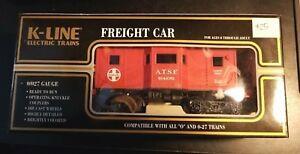 K-LINE  ATSF BAY WINDOW CABOOSE  K614-1051.....NEW IN BOX