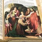 White Large Print KJV Holy Bible Illustrated 1965 Good Counsel Publishing