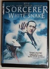 """THE SORCERER AND THE WHITE SNAKE ~ DVD """"SUMPTUOUS VISUALS"""" Martial Arts JET LI"""