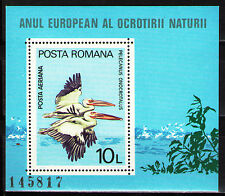 Romania 1980 ScC232  MiBlk167 1 SS  mnh  European Nature Protection Year.