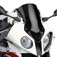 BMW S 1000 RR HP4 2013 > 2014 BULLE PUIG DOUBLE COURBURE NOIR RACING SAUTE VENT