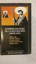 Interpretaciones De La Revolucion Mexicana by Adolfo Gilly (1981, Book)