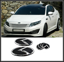 Front Hood / Trunk /Steering Horn K Logo Emblem 6pcfor KIA Optima K5 (2010~2014)