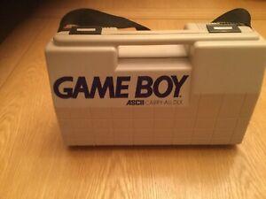 Game Boy - Nintendo ASCII Carry-All DLX carrying storage hard case DMG Original
