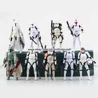 6in Star Wars Figure 02 Darth Maul Sandtrooper 06 Boba Fett Black Series Kid Toy