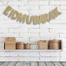 Happy Eid Mubarak Designer Flags Party decorations Banner Muslim ramadan gifts