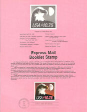 1985 Stamp Souvenir Pages(50) Year Set w/$10.35 Express Single