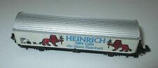 """Baur  Schiebewandwagen 2achs. """"Heinrich Dry Gin"""" > NEU"""