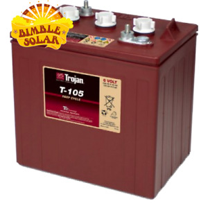 6v Trojan battery T105 225ah Deep Cycle