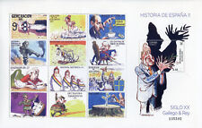 Spain 2017 MNH History of Spain 20th Cent Gallego & Rey 1v M/S Cartoons Stamps