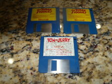 """Tom & Jerry and the Three Stooges for the Commodore Amiga on 3.5"""" floppy disk(s)"""